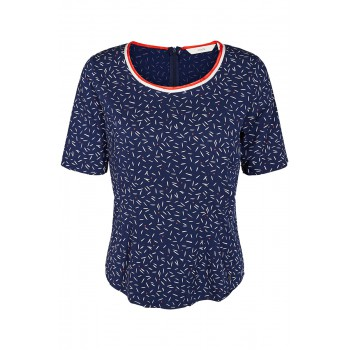 Camiseta estampada azul Nümph