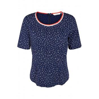 Camiseta mujer Nümph Debbie estampada azul