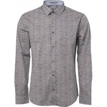 Camisa stretch con dibujo geométrico No Excess