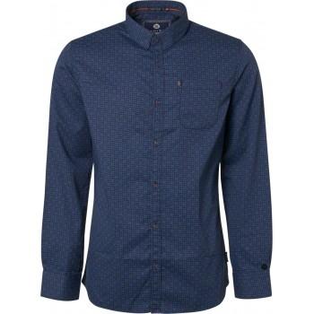 Camisa de lunares marino Noize Amsterdam