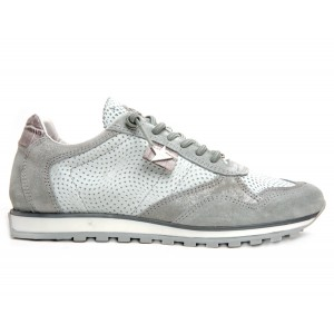 Sneakers Cetti C848 grey twist leather