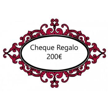 Cheque Regalo 200€