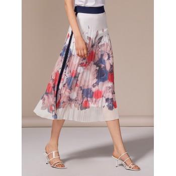 Falda estampada con flores LolitasyL