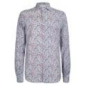Camisa hombre Yes Zee en lino con flores