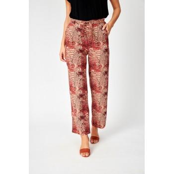 Pantalones anchos estampados SoyaConcept