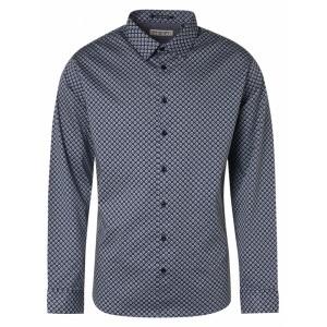 Camisa estampada azul No Excess