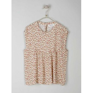 Blusa sin mangas con flores Indi & Cold
