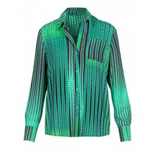 Camisa Argyle estampada Anonyme Designers